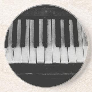 Piano Old Grand Piano Keyboard Instrument Music Coaster