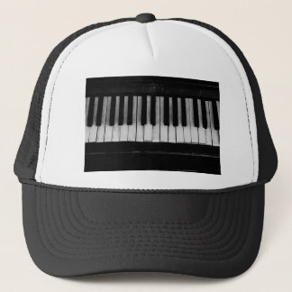 Piano Old Grand Piano Keyboard Instrument Music Trucker Hat