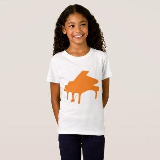 piano orange shirt