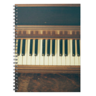 Piano Phone case Spiral Notebook