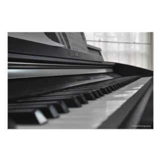 Piano Photo Print