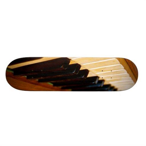 Piano Photo Skate Decks
