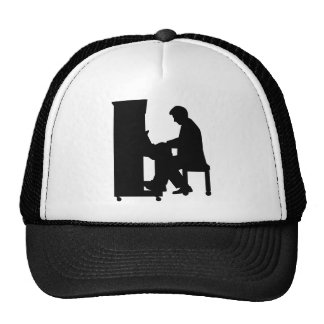 Piano player hat