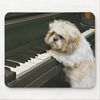 piano player mouse pad