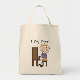 Piano Player Tshirts and Gifts Canvas Bag