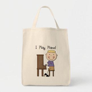 Piano Player Tshirts and Gifts Canvas Bag