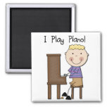 Piano Player Tshirts and Gifts Refrigerator Magnets