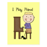 Piano Player Tshirts and Gifts Postcard