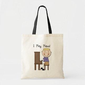 Piano Player Tshirts and Gifts Tote Bag