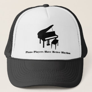 Piano Players Trucker Hat