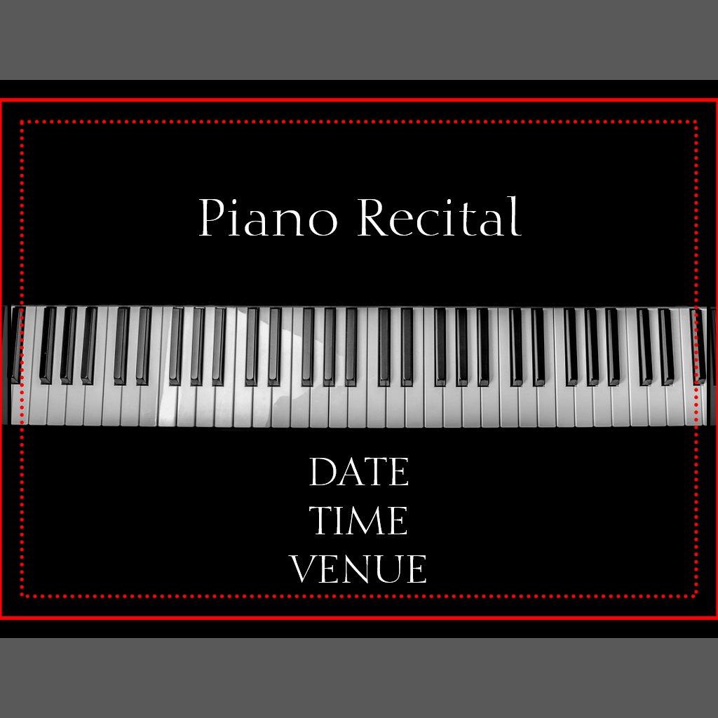 Piano Recital Gifts Piano Recital Elegant Stylish