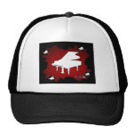 PIANO RED BACKGROUND PRODUCTS HAT