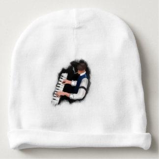 Piano Singer Baby Beanie