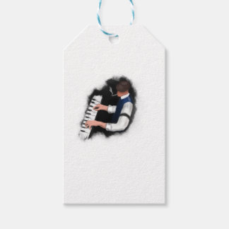 Piano Singer Gift Tags