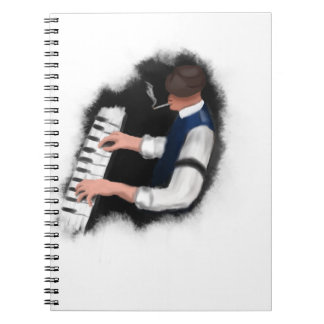 Piano Singer Notebook
