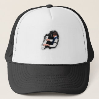 Piano Singer Trucker Hat