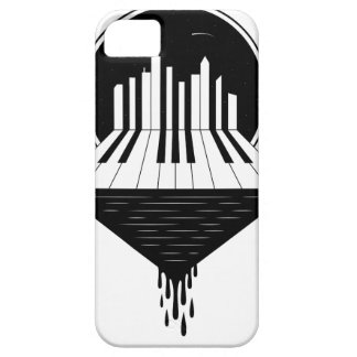Piano Skyline Barely There iPhone 5 Case