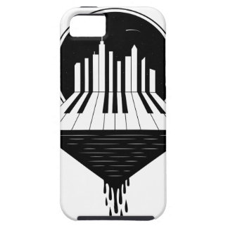 Piano Skyline iPhone 5 Cover