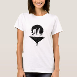 Piano Skyline T-Shirt