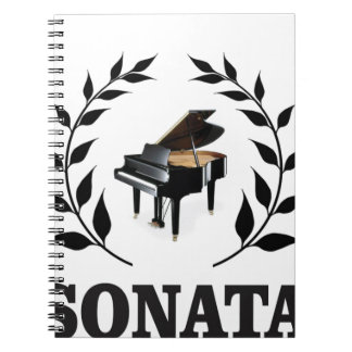 piano sonata art baby notebooks