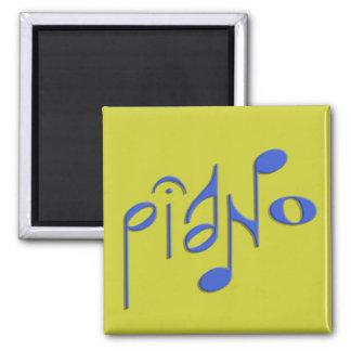 piano square magnet