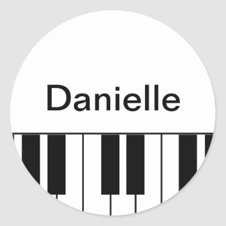 """Piano"" Sticker"