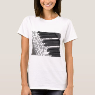 Piano Tattoo T-Shirt