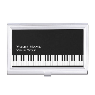 Piano Teacher 2 Case For Business Cards