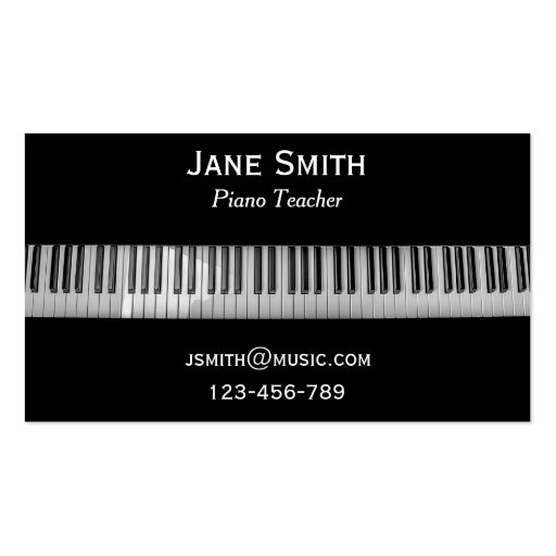 how to create a piano tutoring business