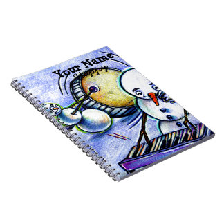 Piano with Keys Sticking Note Book