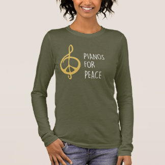Pianos For Peace Women's Long Sleeve T-Shirt