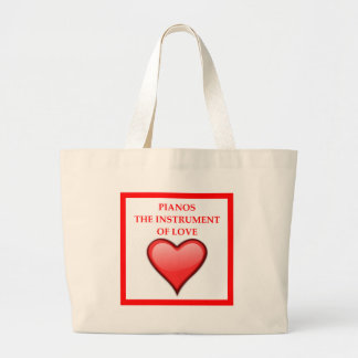 PIANOS LARGE TOTE BAG