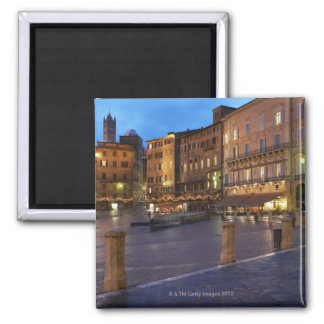 Piazza Del Campo at dusk,Siena. Magnet