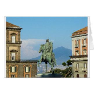 Piazza del Plebiscito, Naples Card