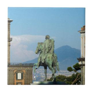 Piazza del Plebiscito, Naples Ceramic Tile