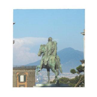 Piazza del Plebiscito, Naples Notepad