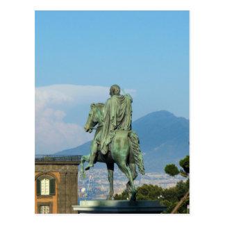 Piazza del Plebiscito, Naples Postcard