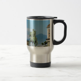 Piazza del Plebiscito, Naples Travel Mug