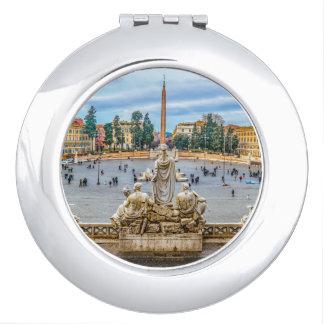 Piazza del Popolo, Rome, Italy Makeup Mirror