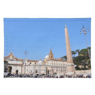 Piazza del Popolo, Rome, Italy Placemat