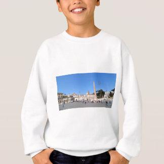 Piazza del Popolo, Rome, Italy Sweatshirt