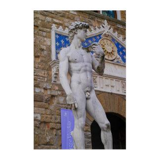 Piazza della Signoria Statue Florence Italy Acrylic Print