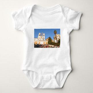 Piazza di Spagna, Rome, Italy Baby Bodysuit