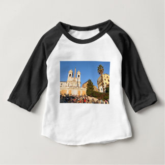 Piazza di Spagna, Rome, Italy Baby T-Shirt