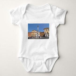 Piazza Navona in Rome, Italy Baby Bodysuit