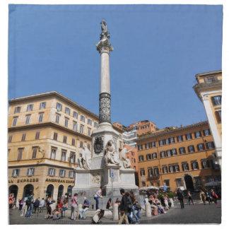Piazza Navona in Rome, Italy Napkin