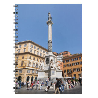 Piazza Navona in Rome, Italy Spiral Notebook