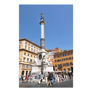 Piazza Navona in Rome, Italy Stationery