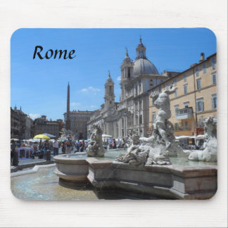 Piazza Navona- Rome Italy Mousepad