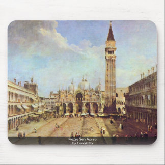 Piazza San Marco. By Canaletto Mouse Pad